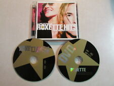A COLLECTION OF ROXETTE HITS THEIR 20 GREATEST SONGS CD/DVD NTSC MEXICO PRESS VG