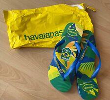 Havaianas Brasilien Olympia Flip Flop's 9/10 43/44 Badelatschen Zehentrenner NEU