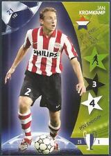 PANINI UEFA CHAMPIONS LEAGUE 2007- #021-PSV EINDHOVEN-JAN KROMKAMP
