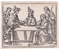 Salomè con la testa di S.Giovanni Battista xilografia del XVII secolo