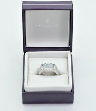 Charriol Anello Argento Sterling 925 Madreperla Blu Zirconi NP.160 €