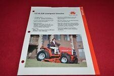 Massey Ferguson 1250 Tractor Dealers Brochure YABE14