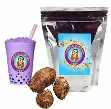 Taro Drink Mix Boba / Bubble Tea Powder by Buddha Bubbles Boba (10 Ounces)