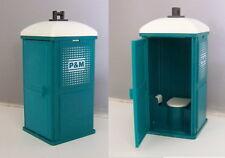 PLAYMOBIL (Q1225) CHANTIER - Toilette de Chantier Vert P&M 3275 Complet