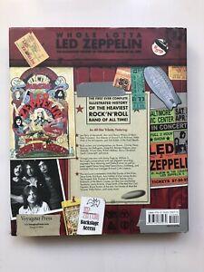 WHOLE LOTTA LED ZEPPELIN HARDBACK BOOK VOYAGEUR PRESS 2008