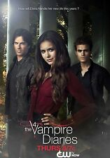 "The Vampire Diaries TV Show Poster 20x13"" Decor 81"