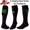 Feelmysa - Premium Compression Socks Knee High Graduated Support FIRM 20-30 mmHg