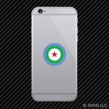 Djiboutian Air Force Roundel Cell Phone Sticker Mobile DAF FAdD Djibouti DJI DJ