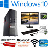 FAST GAMING DELL/HP PC FULL SET INTEL QUAD-CORE i5 8GB 1TB GT710 2GBGraphic Card