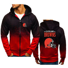 Cleveland Browns Hoodie Sports Sweatshirt Casual Hooded Jacket Gift for Fans