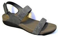 TS shoes TAKING SHAPE sz 11 / 42 Kira Sandals super-comfy wide bling NIB rp$120!