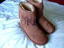 Sheepskin Boots by Cloud Nine, Brown,Size UK 6, Excellent Condition