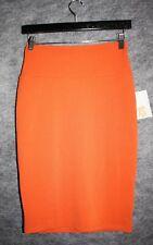 Lularoe Cassie Womens Stretch skirt XS NWT Rust Orange Solid
