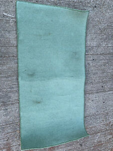 Oblong light green rug (needs cleaning) lot RSE260221L