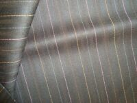 "4.86 yd HOLLAND SHERRY Wool Fabric Snowy River 9 oz Super 100s Suiting 175"" BTP"