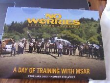 Clinton Anderson No Worries Club DVD February 2013 A Day of Training with MSAR