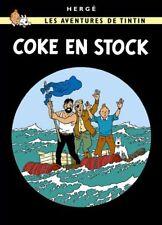 Affiche Offset Tintin Coke en stock