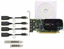 PNY Quadro NVS 510 Graphic Card, 2GB DDR3 OpenGL 4.3, DirectX 11.0