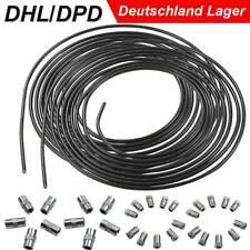 DHL 10m Bremsleitung Bremsrohr Stahl 4,75 mm + 20 Verschraubungen + 10 Verbinder