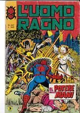 UOMO RAGNO N. 247 ORIGINALE CORNO -