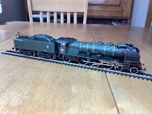 Jouef  HO Gauge 8255 SNCf 4-6-2 Class 231K Locomotive depot Calais unboxed