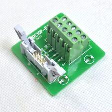 "IDC10 2x5 10 Pin 0.1"" 2.54mm Male Header Breakout Board Terminal Block Connector"