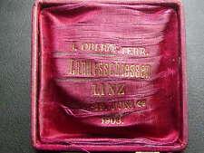 Etui zum I. oberösterreichischen Landesschießen 1903 LINZ   W/17/608