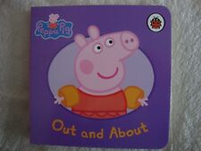 Peppa Pig Book - Out And About - Board Book - Brand New - RRP £3.99