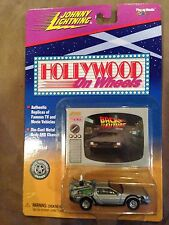Johnny Lightning - Hollywood on Wheels - Back to the Future DeLorean