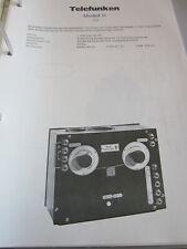 Schaltplan N Radio Telefunken Modell A , 1924