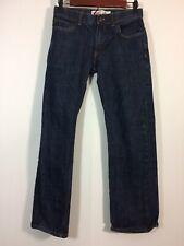 Levis 505 Jeans Boys Size 12 Dark Wash Blue Straight Leg Denim