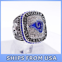 FROM USA- Los Angeles Rams 2019 Ring NFC National Football Official Championship