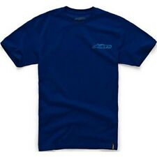 Alpinestars Chest Blaze Classic Tee (L) Navy Blue