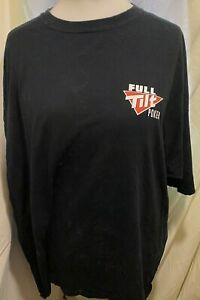 FULL TILT POKER TASTES LIKE CHICKEN T SHIRT 3XL XXXL