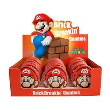 Nintendo Super Mario Brothers Brick Breakin Candy In Embossed Metal Tin SEALED