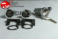 70-73 Mustang Ignition & Door Lock Set before 5/13/73 Original Style Keys