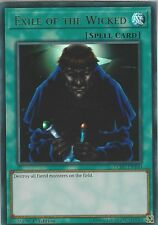 Yu-Gi-Oh: EXILE OF THE WICKED - LCKC-EN100 - Ultra Rare Card - 1st Edition