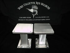 """One Pair of Aluminum Downrigger Pedestals 5'' 5''x 6""""Cannon or any size"""