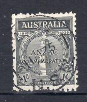 Australia1935 1s Anzac FU CDS