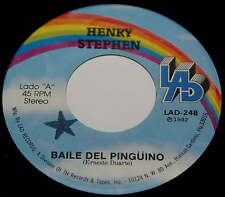 Henry Stephen 45 Baile Del Pinguino / I Don't Know  EX