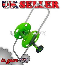 Portable Universal Garden Hose Pipe Reel Trolley Winder Cart Anti Rust Frost NEW