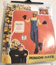 Despicable Me 3 Minion Dave Child Costume Rubies Small 4-6