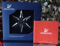 2003 NIB SWAROVSKI ANNUAL LITTLE CHRISTMAS ORNAMENT STAR/SNOWFLAKE #629306