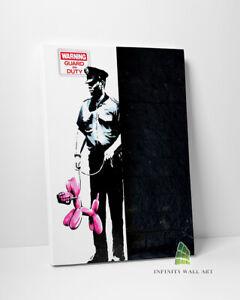 BANKSY Pink Balloon Dog Graffiti Canvas Art Wall Art Print Picture Canvas --C840