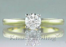 Yellow Gold Very Good Natural VS2 Fine Diamond Rings