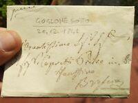 1841 PREFILATELICA DA GOGLIONE SOTTO (COMUNE DI PREVALLE NEL BRESCIANO)