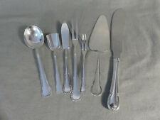 WMF 3200 Barock 7 Vorlegeteile u.a. Tortenmesser 90er Silberauflage