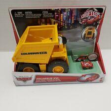 New Colossus XXL Disney Pixar Cars Micro Drifters Dump Truck Mattel 2012 RARE 4+
