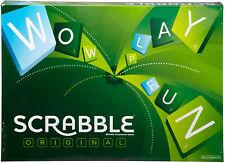 NEW Scrabble Orginal Y9592 Board Game Scrabble Is The Classic Board Gam