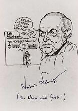 """NORBERT SCHULTZE --- """"Lili Marleen"""" - original signiert - A5#18a"""